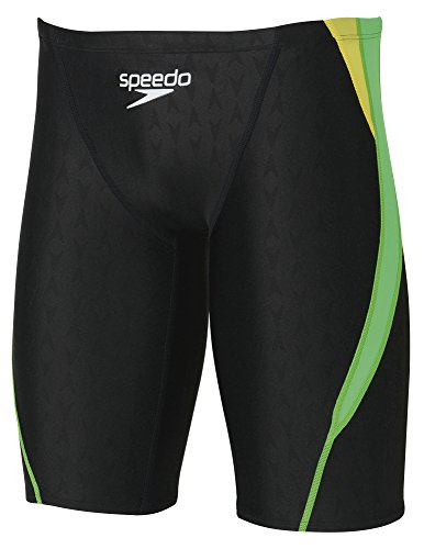 Speedo(スピード)メンズ競泳水着スパッツフレックスシグマSD76C05フラッシュグリーンM