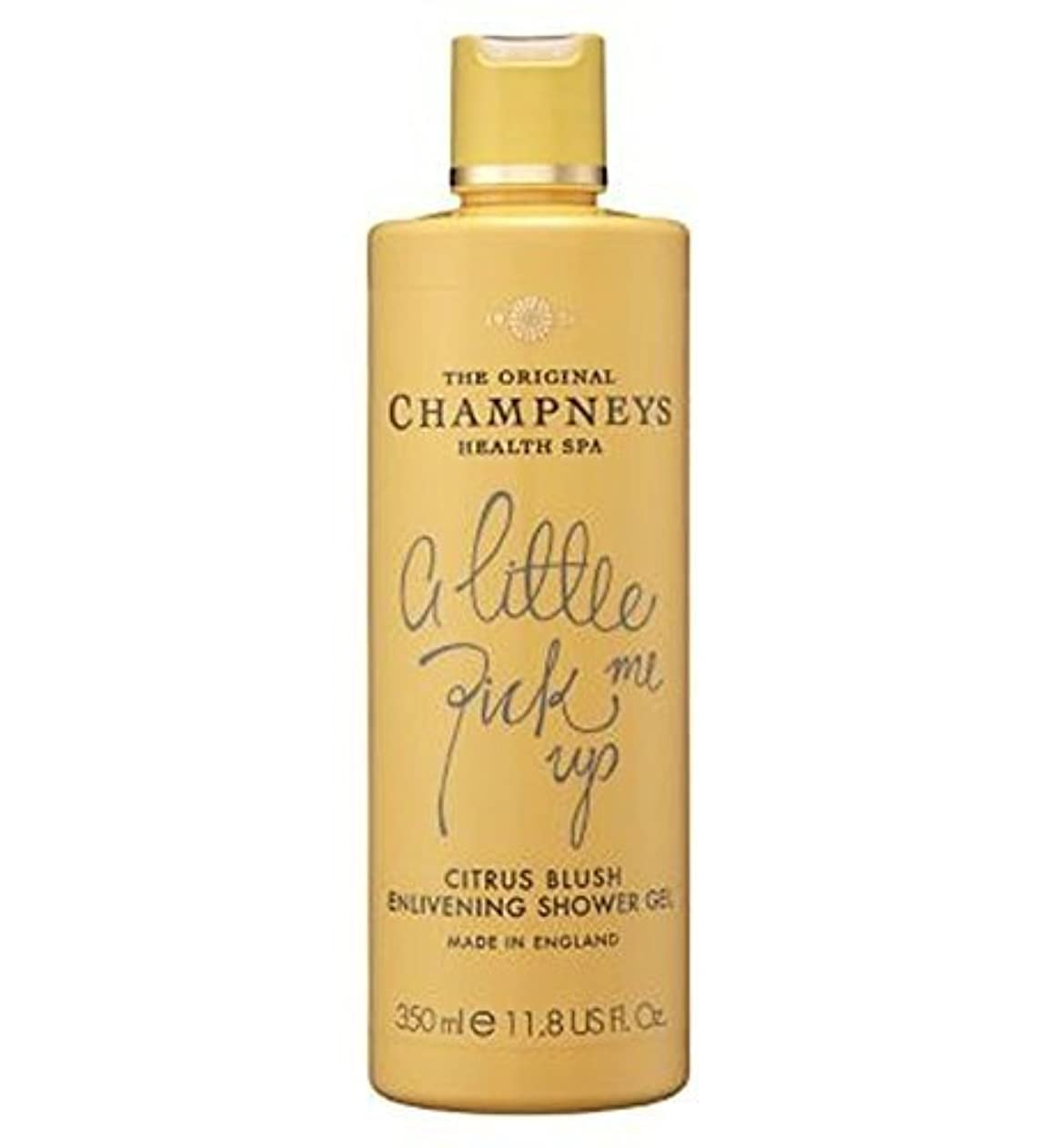 精巧なデンマーク階下Champneys Citrus Blush Enlivening Shower Gel 350Ml by Champneys