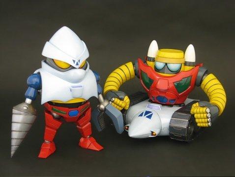 メタルボーイ OVA真ゲッターロボ版ゲッター2&ゲッター3 未塗装組立キット