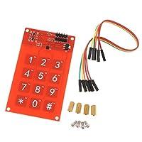 F Fityle MPR121 センサボタンコントロール対応 キーボードタッチシールド