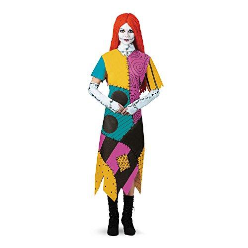 The Nightmare Before Christmas Sally Adult Plus Costume クリスマスサリー大人用プラスコスチュームナイトメアー?ビフォア♪ハロウィン♪サイズ:Plus (18-20)