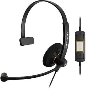 ゼンハイザーコミュニケーションズ SC 30 USB CTRL エントリークラス 片耳USBヘッドセット、コールコントロール機能付 504548