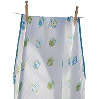 Angel Dear Soft Muslin Cotton Baby Napping Blankets (boy Owl) by Angel Dear [並行輸入品]
