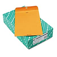 Clasp封筒、91/4x 141/2、28lb、ブラウンクラフト、100/ボックス