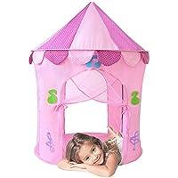 子供用テント子供遊びテントプリンセスPrince城Kids Pop Up Play Tentsボーイズガールズインドアアウトドア用テントGreatクリスマスおもちゃギフトIdea