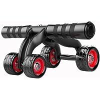 (小さな幸運)筋トレ 腹筋ローラー 四輪 ダイエット器具 マット付き