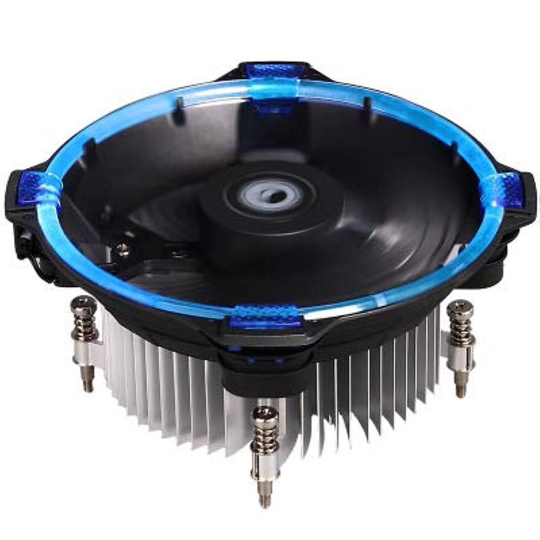 親写真のプレビスサイトCPUクーラー、扇風機ダウンミュートRGB LED CPUクーラーマスター