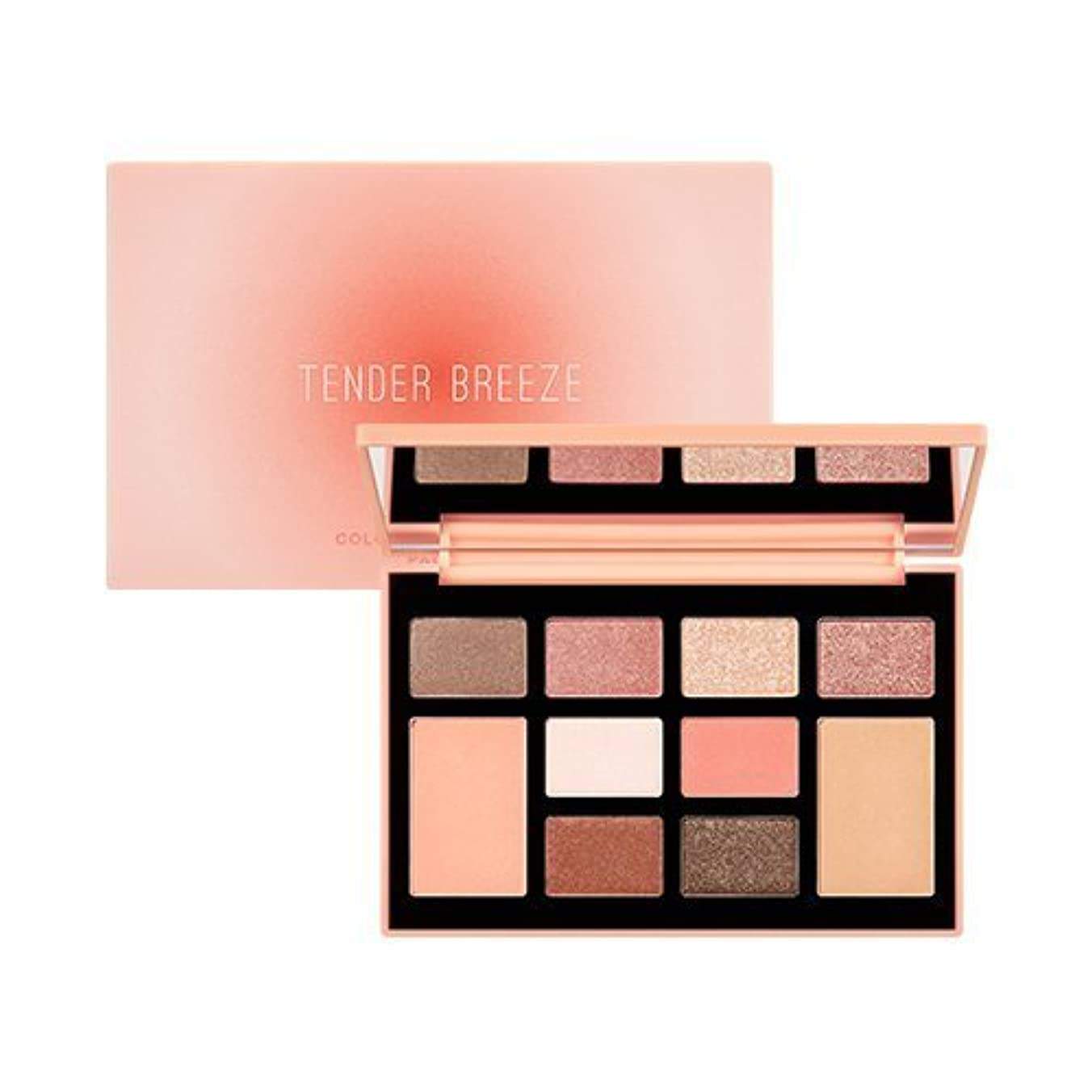 MISSHA Color Filter Shadow Palette [No.4 Tender Breeze Filter] / ミシャ カラーフィルターシャドウパレット [No.4 Tender Breeze Filter...