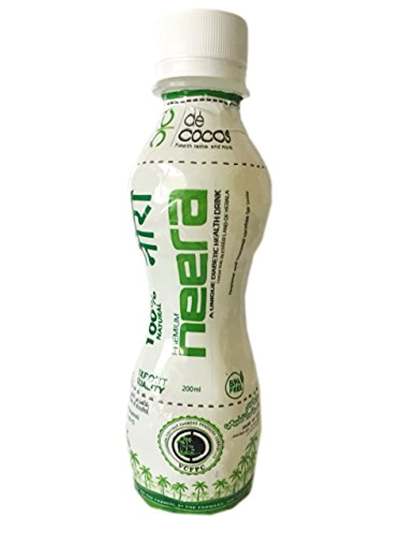 真向こう電気技師粗いiFarmerscart Neera Coconut Sap Health Drink - 200ML (Pack of 10)