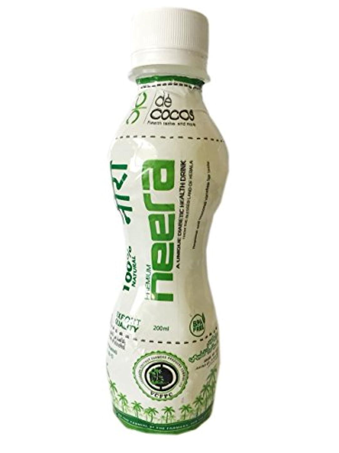 眠いですピクニックをする怠iFarmerscart Neera Coconut Sap Health Drink - 200ML (Pack of 10)
