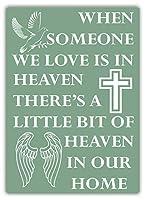 Heaven In Our Home ティンサイン ポスター ン サイン プレート ブリキ看板 ホーム バーために