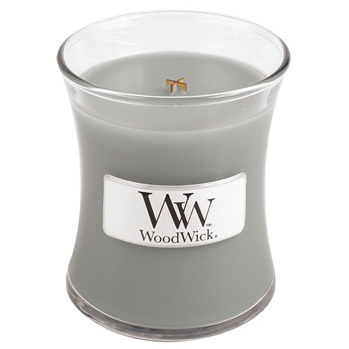拍手無駄な遺棄されたWoodwick Mini Fireside Candle 3.4oz by WoodWick