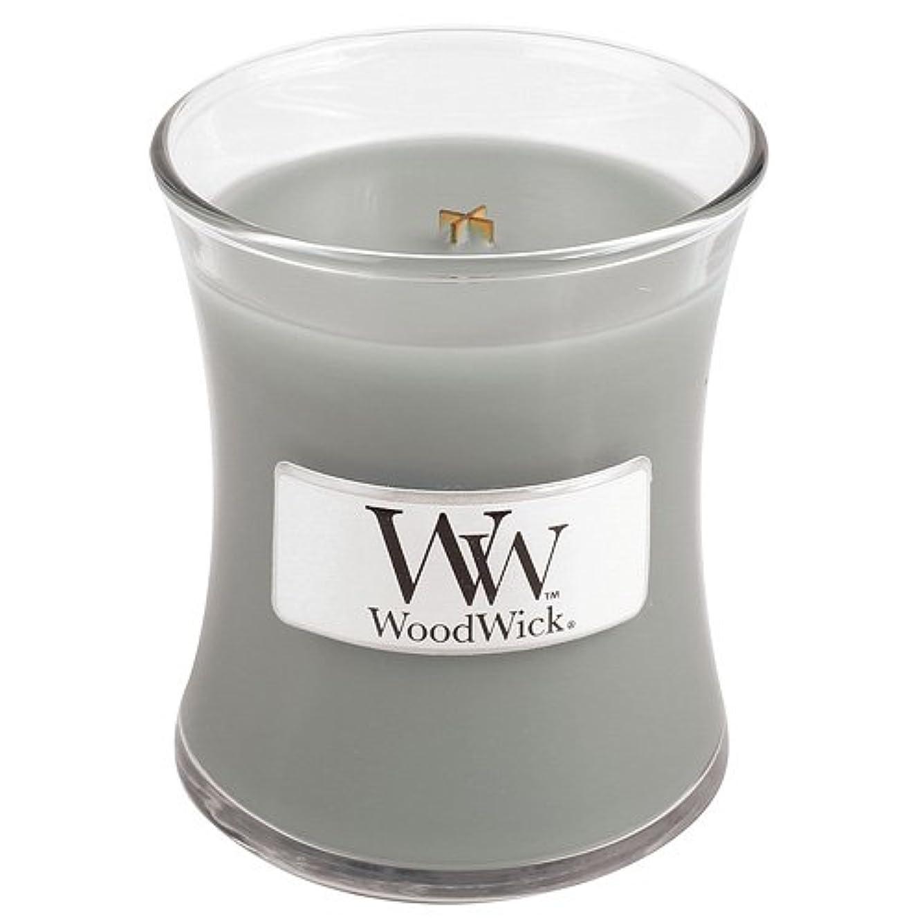 運命的な薄いです赤面Woodwick Mini Fireside Candle 3.4oz by WoodWick