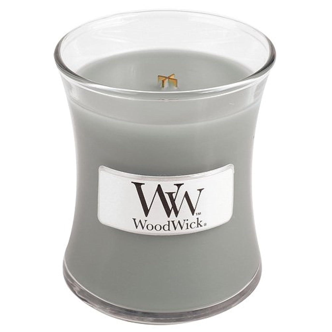 カウントアップ記念碑的なぬれたWoodwick Mini Fireside Candle 3.4oz by WoodWick