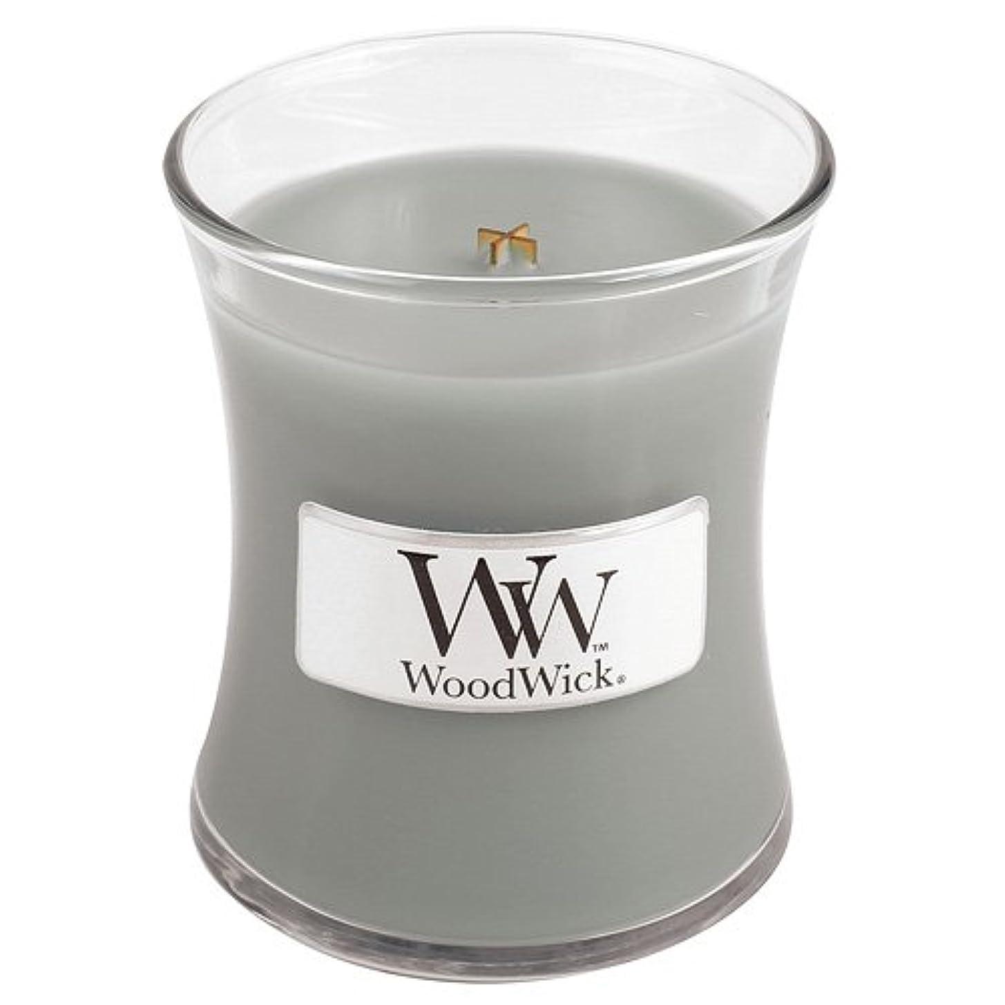 申し立て約消毒するWoodwick Mini Fireside Candle 3.4oz by WoodWick