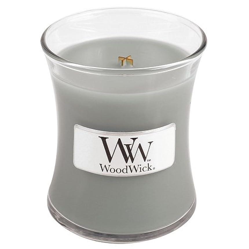 愛国的な期限劇的Woodwick Mini Fireside Candle 3.4oz by WoodWick