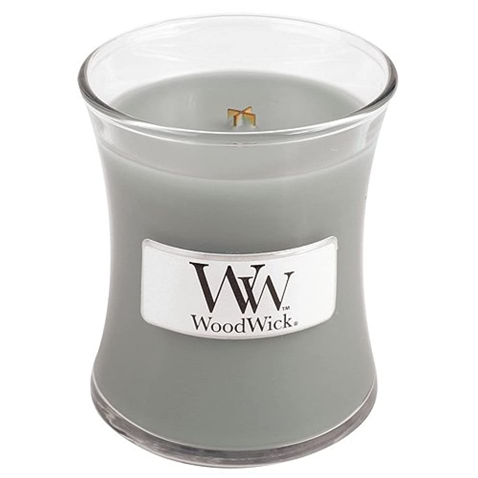 演劇皮肉虚偽Woodwick Mini Fireside Candle 3.4oz by WoodWick