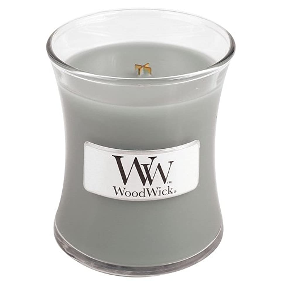 魅惑する下手血色の良いWoodwick Mini Fireside Candle 3.4oz by WoodWick