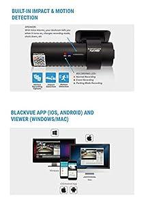 BLACKVUE 2カメラWiFi DR650S-2CHフルHDドライブレコーダー16GBSD付【正規品】