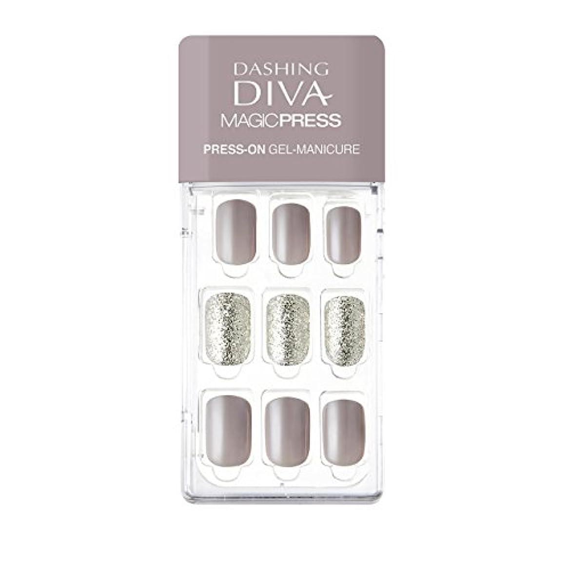 守る浸食受動的ダッシングディバ マジックプレス DASHING DIVA MagicPress MDR140-DURY+ オリジナルジェル ネイルチップ
