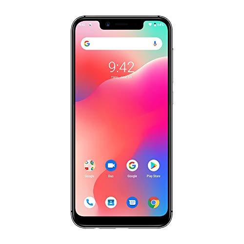 UMIDIGI A3 Pro Updated Edition SIMフリースマートフォン Android 9.0 2+1カードスロット 5.7インチ アスペクト比19:9 12MP+5MPリアデュアルカメラ 8MPフロントカメラ グローバルLTEバンド対応 両面2.5D曲線ガラス 3GB RAM + 32GB ROM(256GBまでサポートする) 顔認証 指紋認証 技適認証済み au不可 一年メンテナンス保証 (グレー)