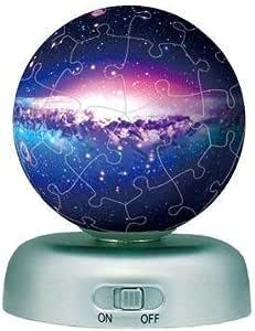 パズランタン 60ピース ザ・ユニバース 2003-393 【光るパズル】 (直径約7.6cm)