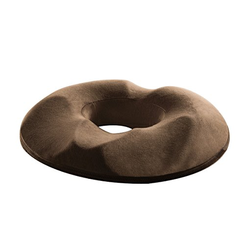 Loten ヘルスケア座布団 低反発ウレタン 猫背 腰痛対策 姿勢矯正 骨盤サポート 美尻 痔疾ケア クッション 事務長時間の作業でも疲れにくい 男性/女性向け 色選択可 (男性向け, グレー) #Home #B06XRS8P55