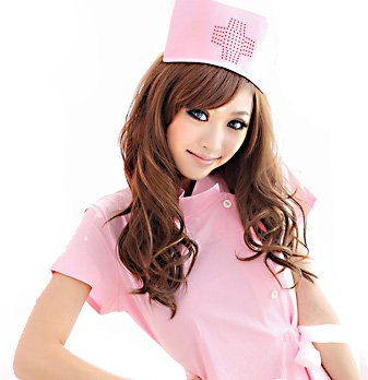 R-STYLE 可愛く 診察しちゃうぞ コスプレ 衣装 看護...