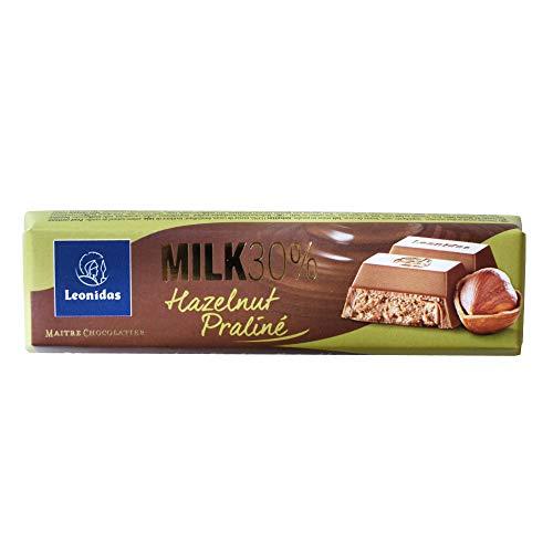 ベルギー産 レオニダス チョコレートバー 50g 【 プラリネヘーゼル 】 バレンタイン ホワイトデー プレゼント 義理チョコ
