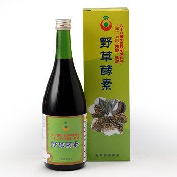 66品目の栄養素がたっぷり!野草酵素 (720ml)