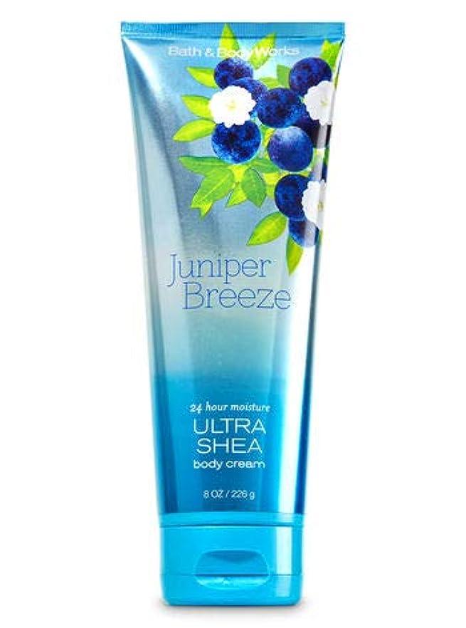 皿エスニック役割【Bath&Body Works/バス&ボディワークス】 ボディクリーム ジュニパーブリーズ Ultra Shea Body Cream Juniper Breeze 8 oz / 226 g [並行輸入品]