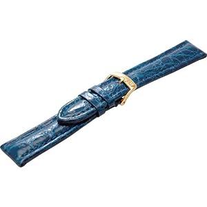[モレラート]MORELLATO TIPO BREITLING 3 ティポ ブライトリング 時計ベルト 20mm ブルー クロコダイル時計ベルト U2120 052 065 020