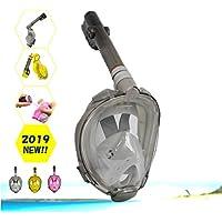 シュノーケルマスク PIVOTGEAR シュノーケル セット 水中メガネ 子供 男女兼用 ダイビング 2019版