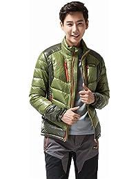 (マキノ)Makino メンズ 軽量 撥水 防寒 ライト ダウン ジャケット ダウン90%使用 6005-1