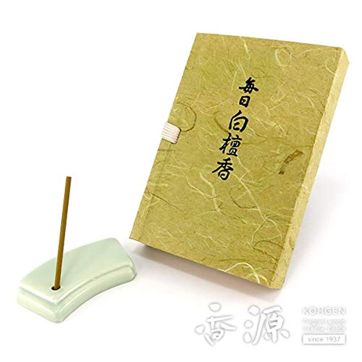 ジョージスティーブンソンキルト吸収する日本香堂のお香 毎日白檀香 スティックミニ寸文庫型60本入り