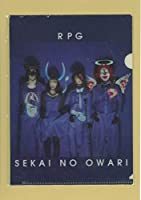 セカイノオワリ SEKAI NO OWARI RPG A5サイズ クリアファイル