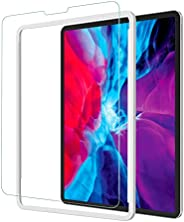 NIMASO ガラスフィルム iPad Pro 12.9 (2021 / 2020 / 2018) 用 強化 ガラス 保護 フイルム ガイド枠付き