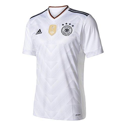 アディダス(adidas) ドイツ代表 サード レプリカユニフォーム半袖 BSK96 B47873 ホワイト/ブラック M