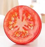 本物 そっくり クッション リアル 果物 果実 木材 座布団 枕 おまけ付き (トマト)