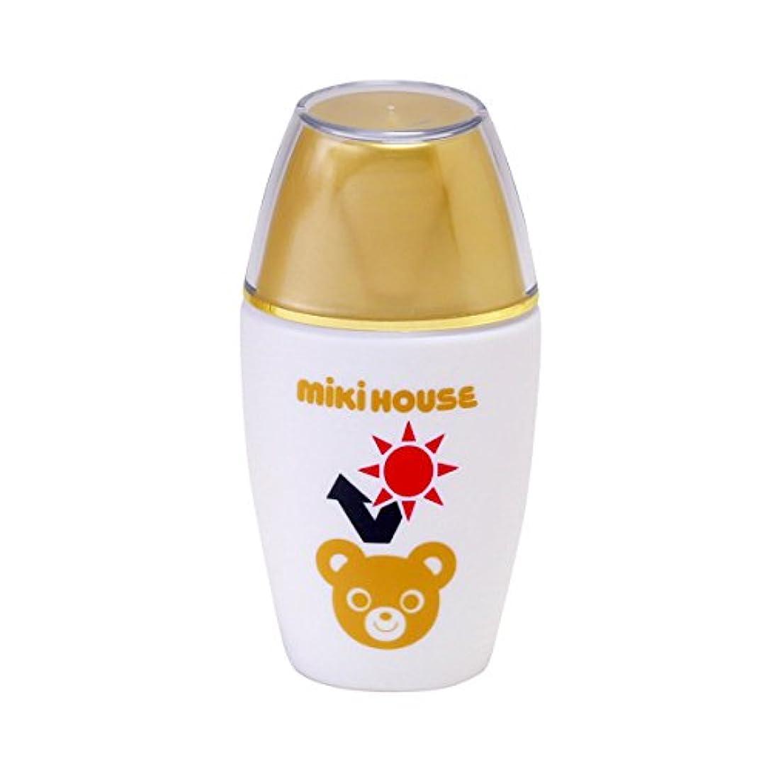 話空虚肩をすくめるミキハウス (MIKIHOUSE) UVカットミルク 15-3050-787 - -