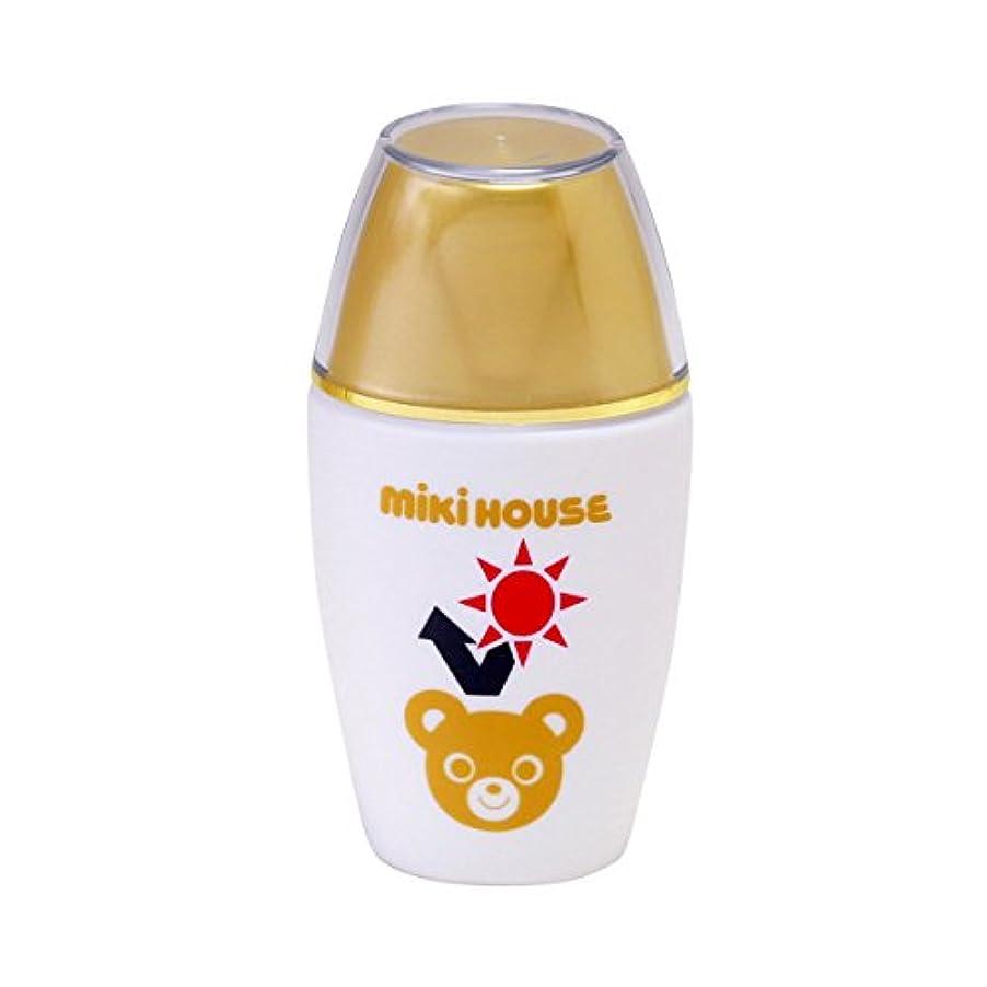 ブルーベルトランジスタ占めるミキハウス (MIKIHOUSE) UVカットミルク 15-3050-787 - -