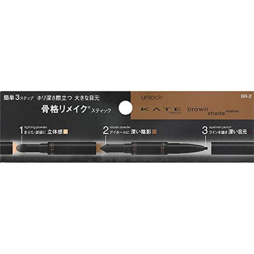 日常的にシェーバー順応性のあるカネボウ(Kanebo) ケイト ブラウンシェードメイカー<カラー:BR-2>