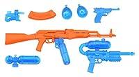 リトルアーモリー LA041 ウォーターガンB2 オレンジ×クリアブルー プラモデル