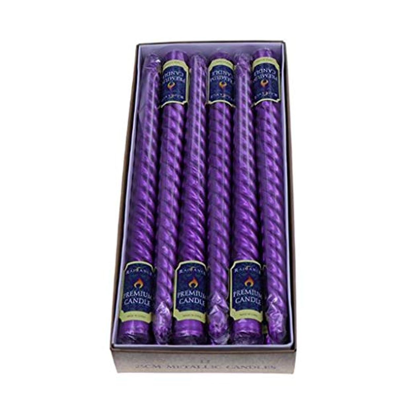 学習者平野決済キャンドル、スモークレス、テイレスロングロッドスレッドキャンドル、低温バースデーキャンドルケーキパーティーウェディングバースデーケーキデコレーションキャンドル(12) (Color : Purple)