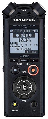 OLYMPUS リニアPCMレコーダー LS-P4 ブラック