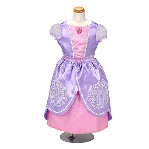 ディズニー ちいさなプリンセスソフィア おしゃれドレス ソフィア 100cm-110cm