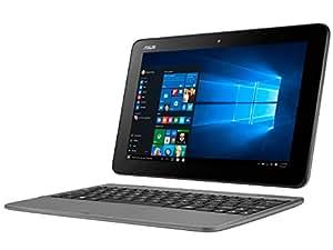 エイスース 10.1型 2-in-1 ノートパソコン ASUS TransBook T101HA メタルグレー(Microsoft Office Mobile) T101HA-GRAY