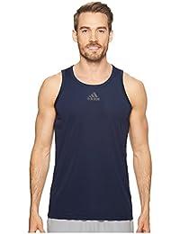 (アディダス) adidas メンズタンクトップ・Tシャツ Heathered Tank