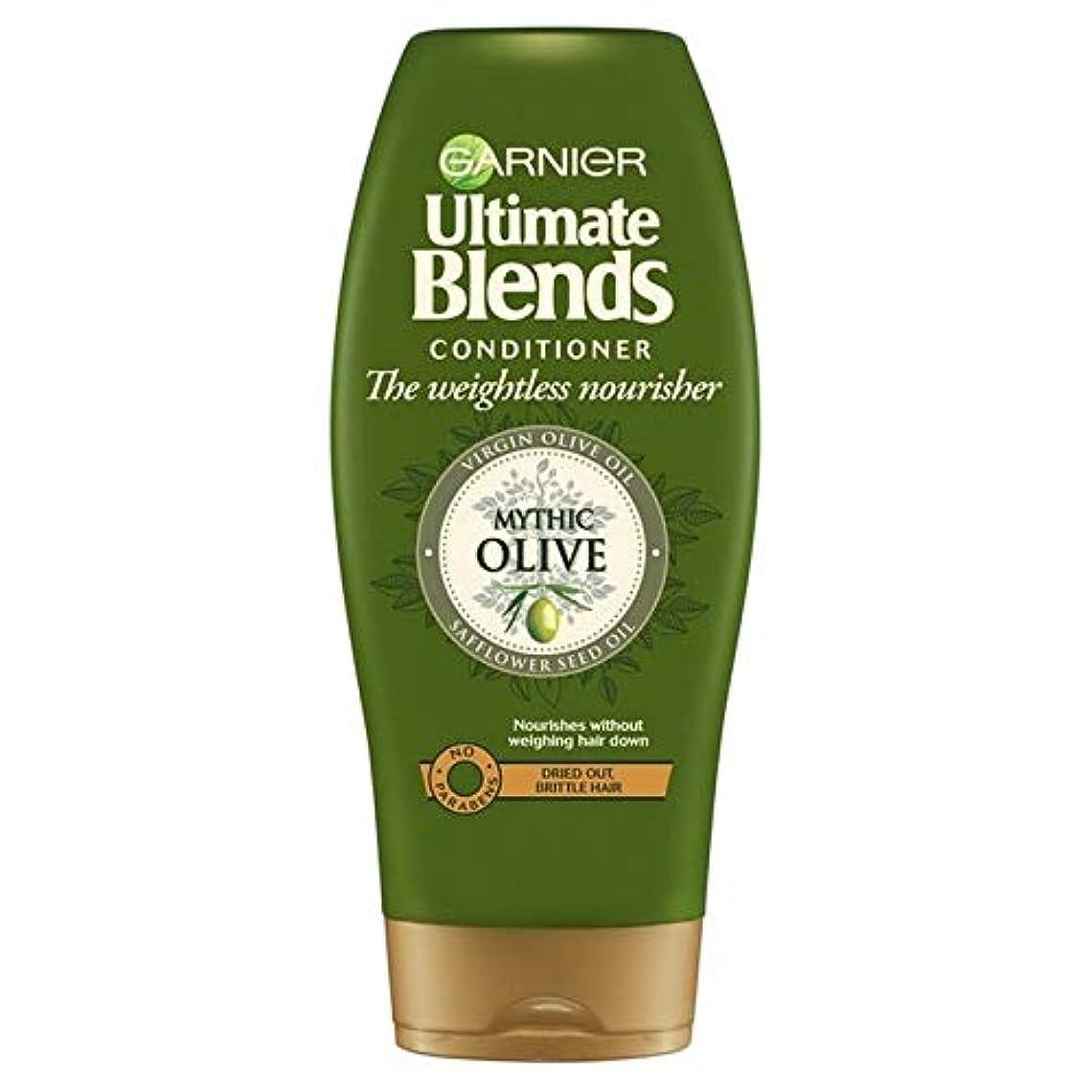 日没結婚式後ろ、背後、背面(部[Garnier ] ガルニエ究極のオリーブオイルドライヘアコンディショナー360ミリリットルをブレンド - Garnier Ultimate Blends Olive Oil Dry Hair Conditioner...