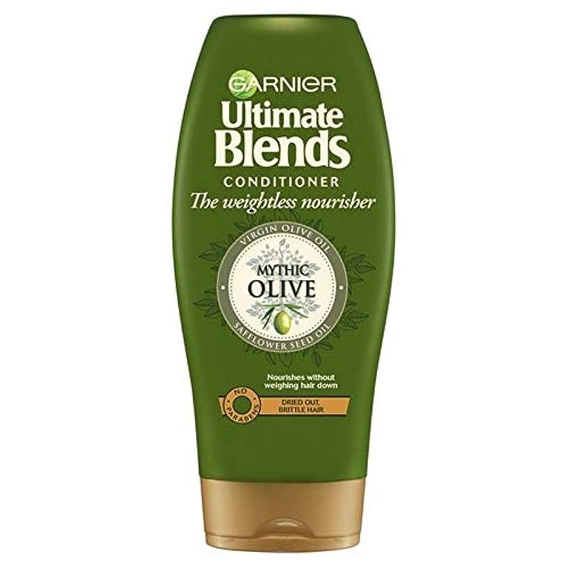閃光契約した革命[Garnier ] ガルニエ究極のオリーブオイルドライヘアコンディショナー360ミリリットルをブレンド - Garnier Ultimate Blends Olive Oil Dry Hair Conditioner...
